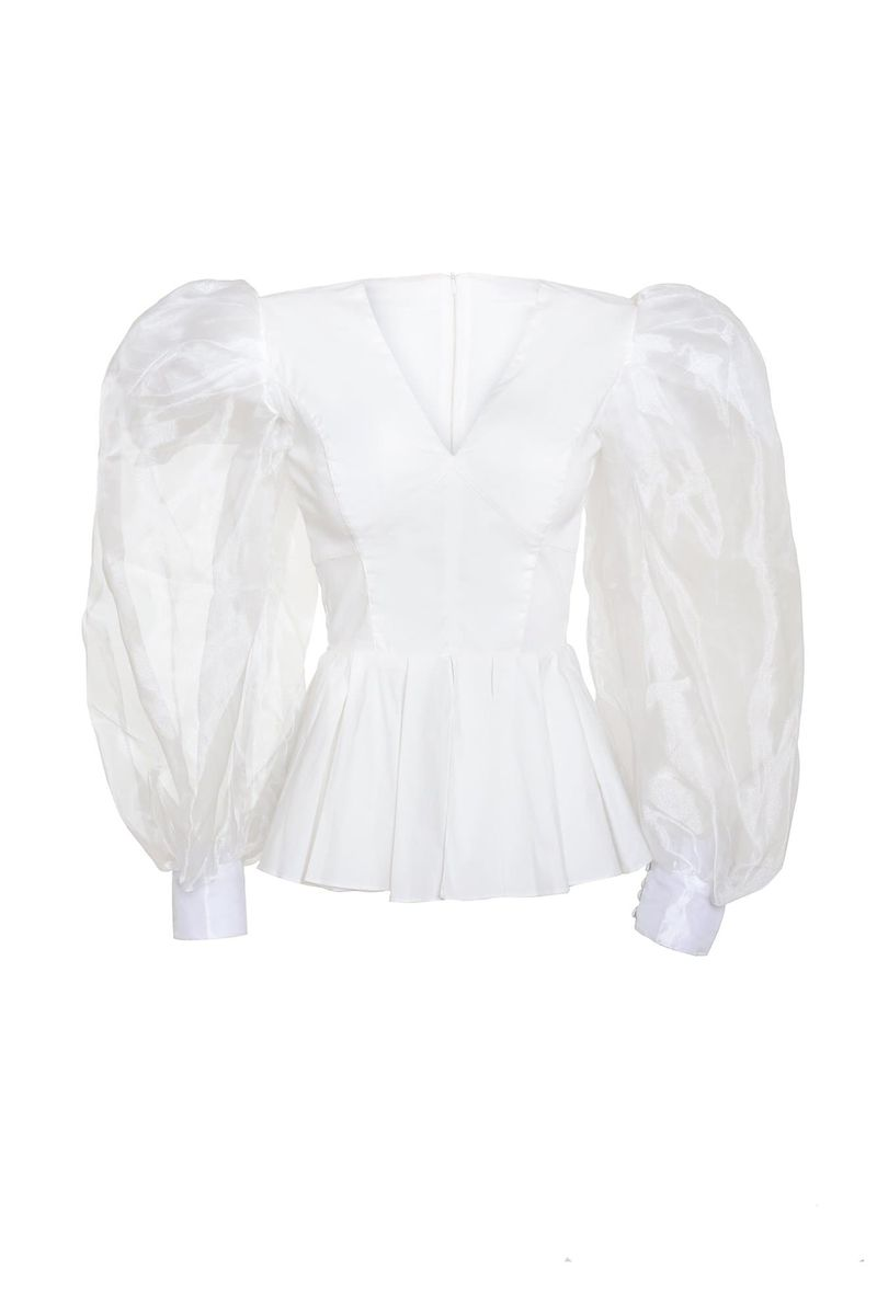 Ivory Worimi Blouse - BYTRIBUTE