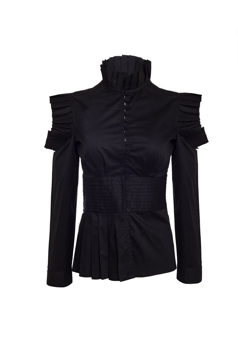 Black Ibis Blouse - BYTRIBUTE