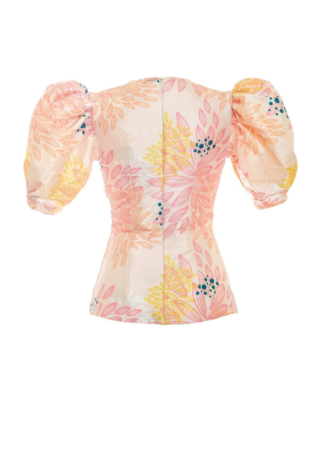 Peach Garceta Blouse - BYTRIBUTE