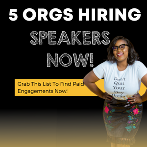 5 Orgs Hiring Speakers Now!