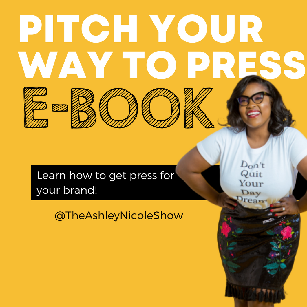 Pitch Your Way To Press Ebook