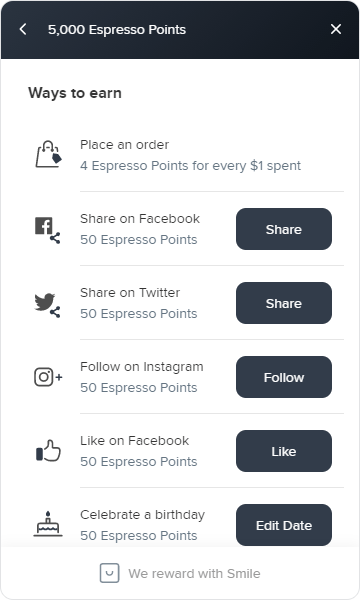 How to Earn Roaster Central Rewards
