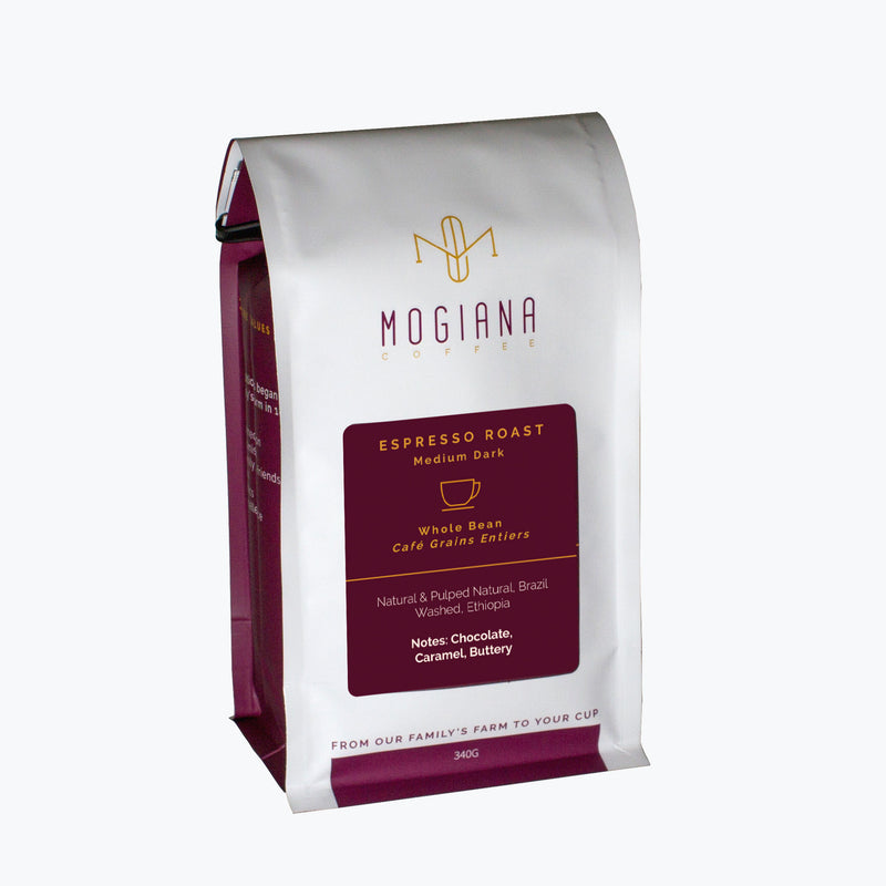 Mogiana Coffee – Espresso Roast - Medium Dark
