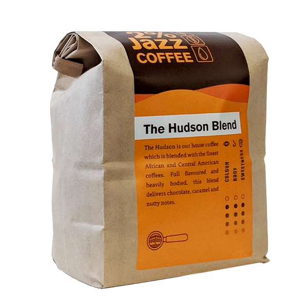2% Jazz Coffee – The Hudson Blend (340g)