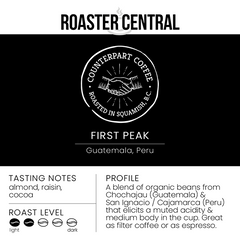 Counterpart Coffee – First Peak (340g)