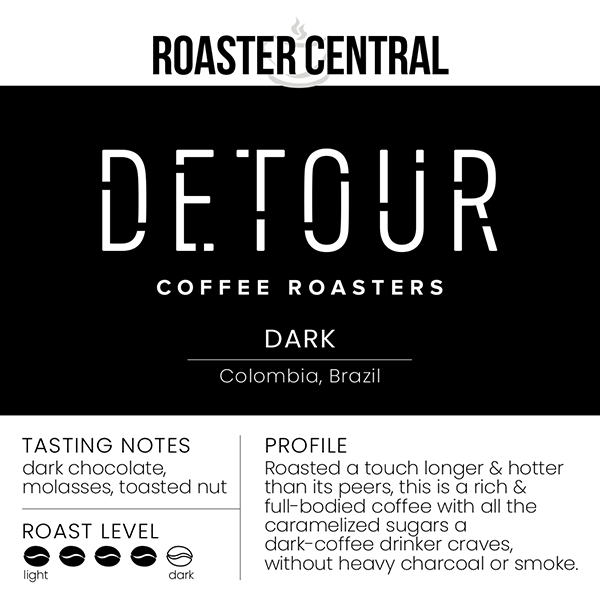 Detour Coffee Roasters – Dark (300g)