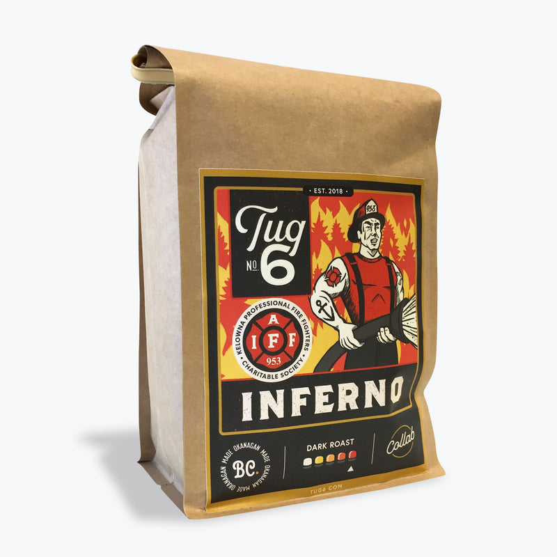 Tug 6 Coffee Roasters - Inferno (454g)