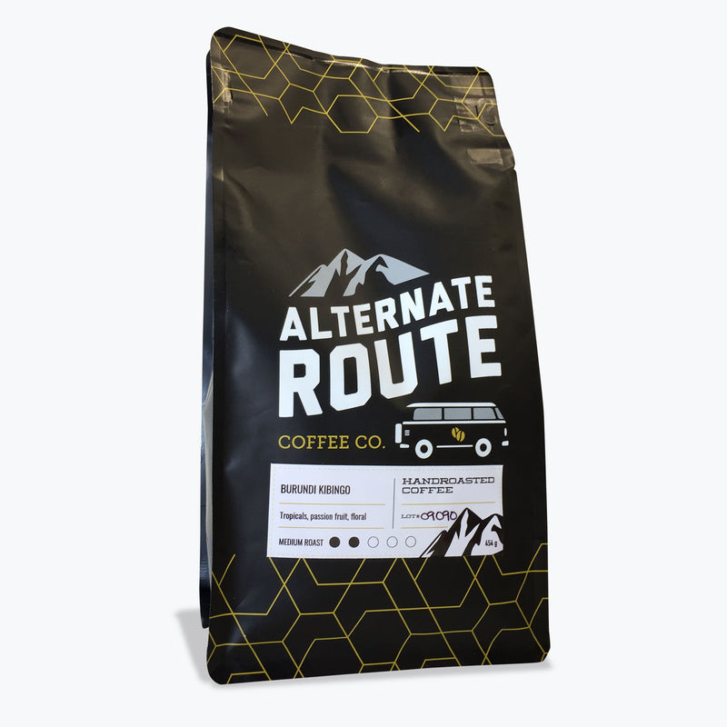 Alternate Route Coffee Co. – Burundi Kibingo Honey Red Bourbon (454g)
