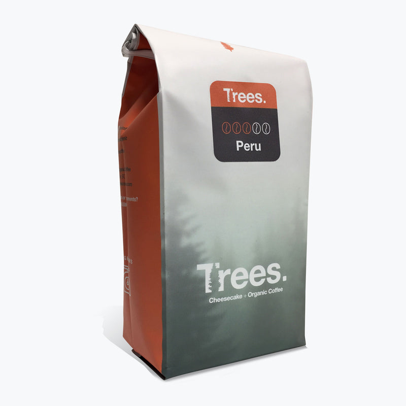 Trees Organic Coffee - Peru Medium Roast (340g)