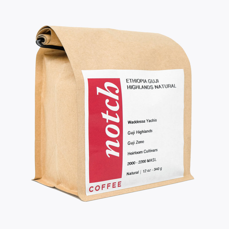 Notch Coffee Roasters - Ethiopia Guji Highlands Natural - Light Roast (340g)