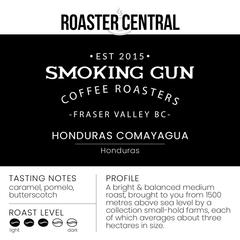 Smoking Gun Coffee – Honduras Comayagua (454g)