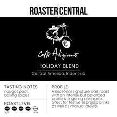 Caffè Artigiano - Holiday Blend - Dark Roast (340g)