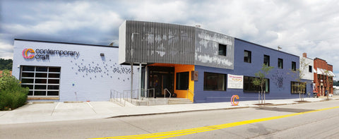 Contemporary Craft Lawrenceville building in Pittsburgh PA