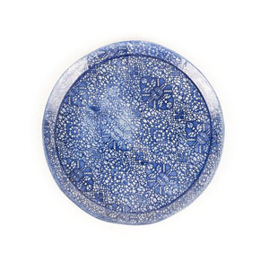 Emmanuelle Wambach's lacy ceramic plate