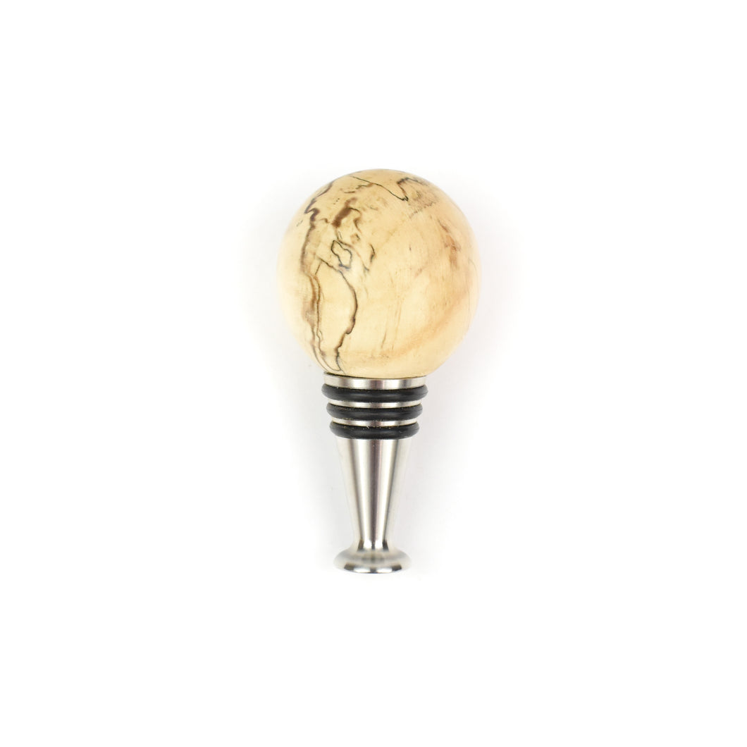 Linda Van Gehuchten Turned Wood Bottle Stopper