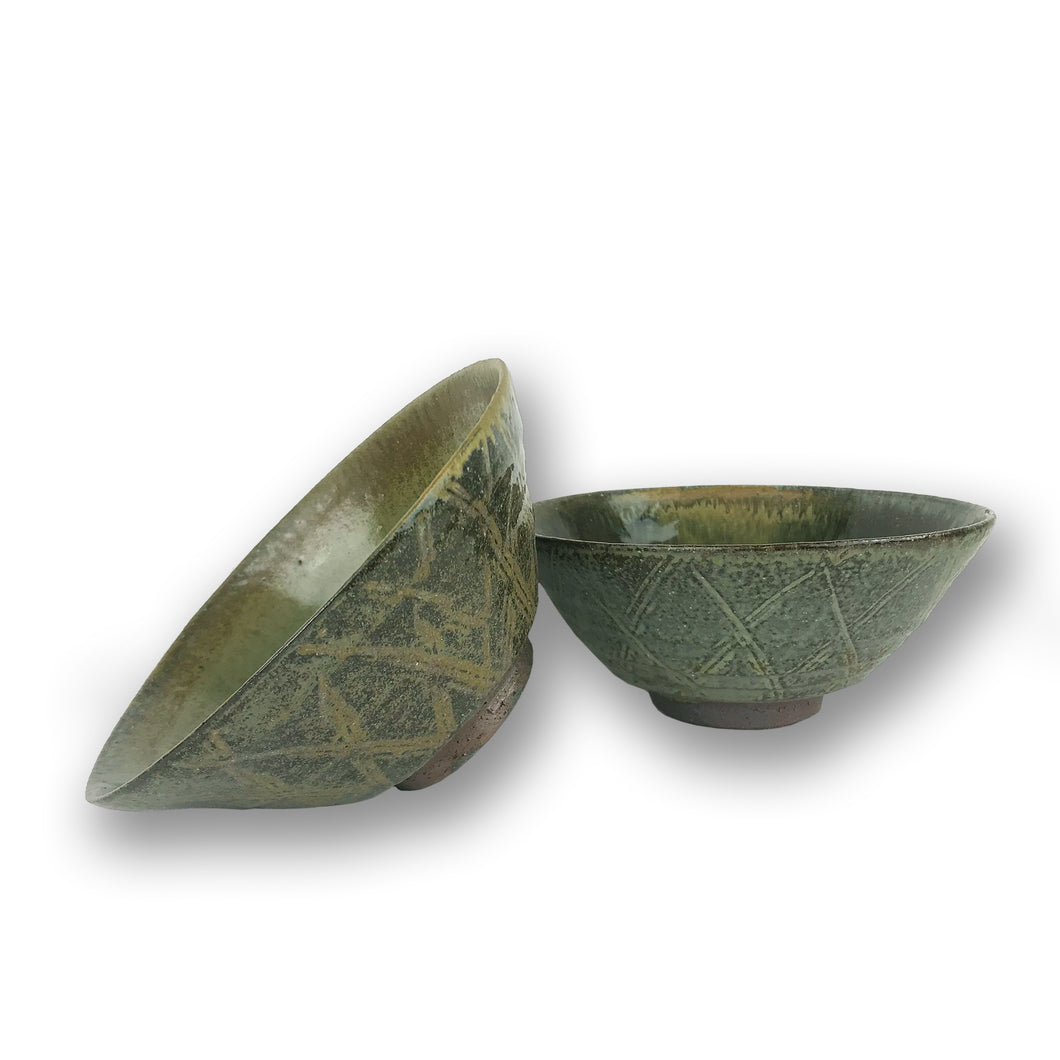 Willi Singleton Patterned Ceramic Bowl