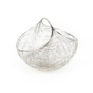 "Cindy Luna 7"" Wire Basket with Handle"