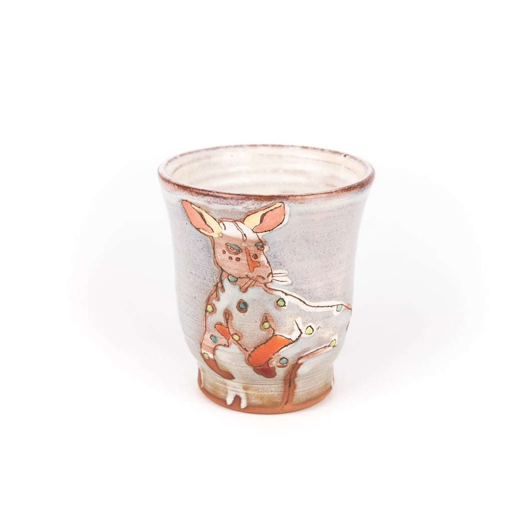 Shanna Fliegel Ceramic Animal Tumbler