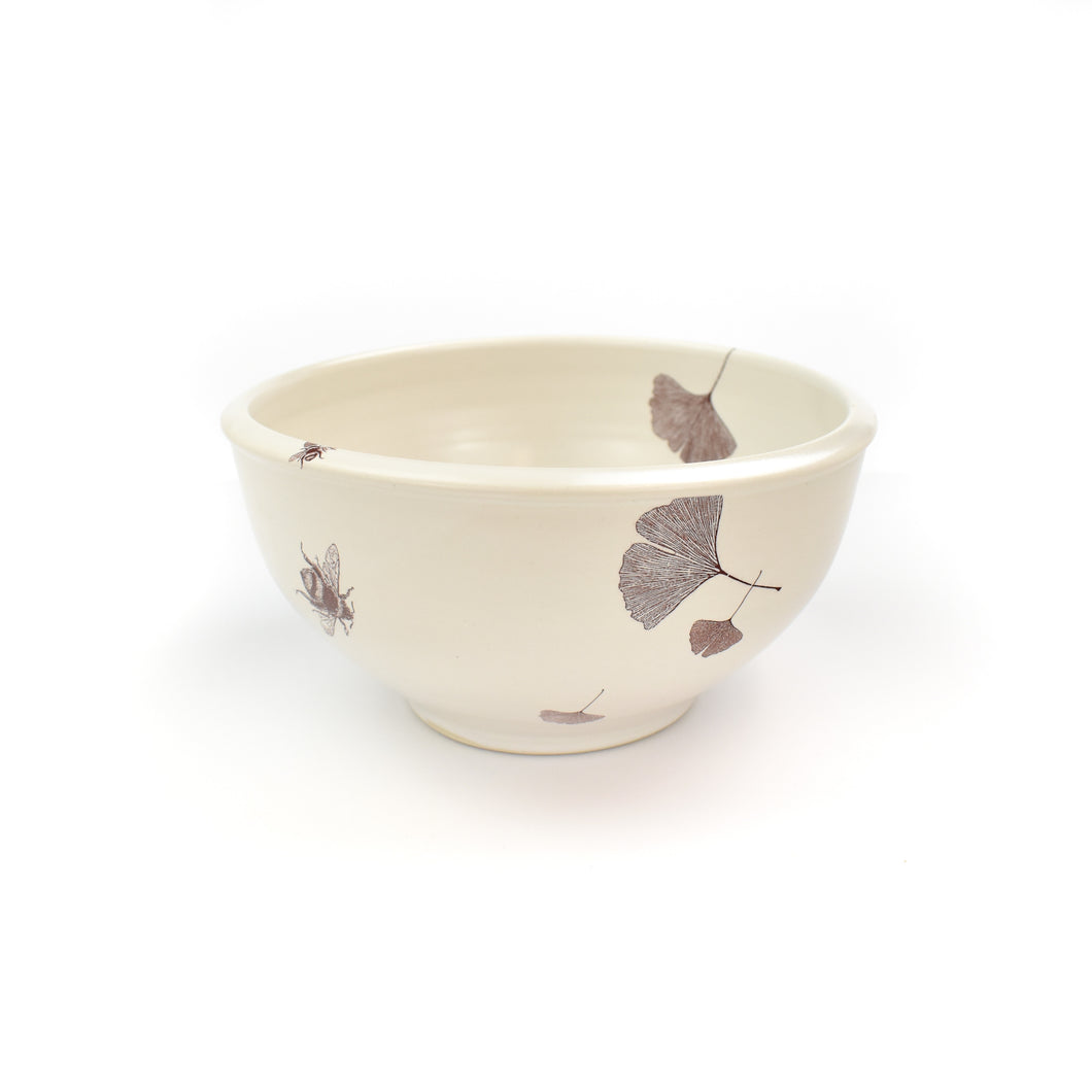 Sandy Miller Ceramic Gingko Bowl