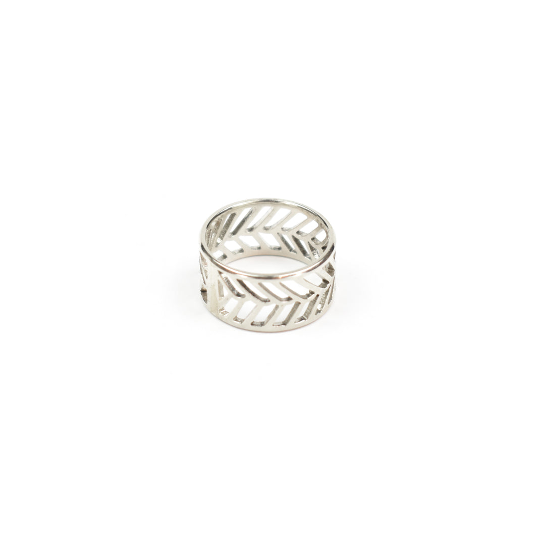 Stacy Rodgers Mea Bright Slim Band Ring