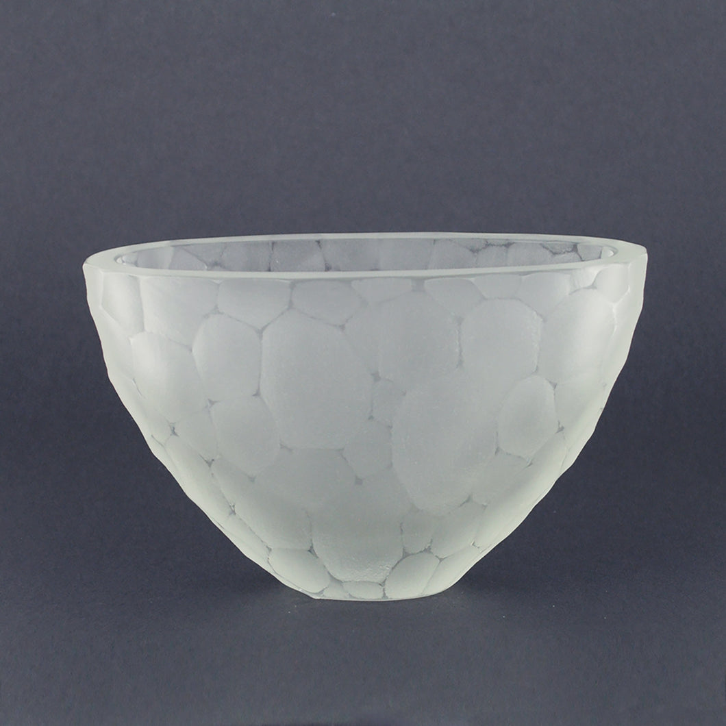 Adam Kenney Clear Glass Pod Vessel