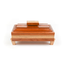 Load image into Gallery viewer, Robert Bishop Cherry/Birch/Maple Keepsake Box