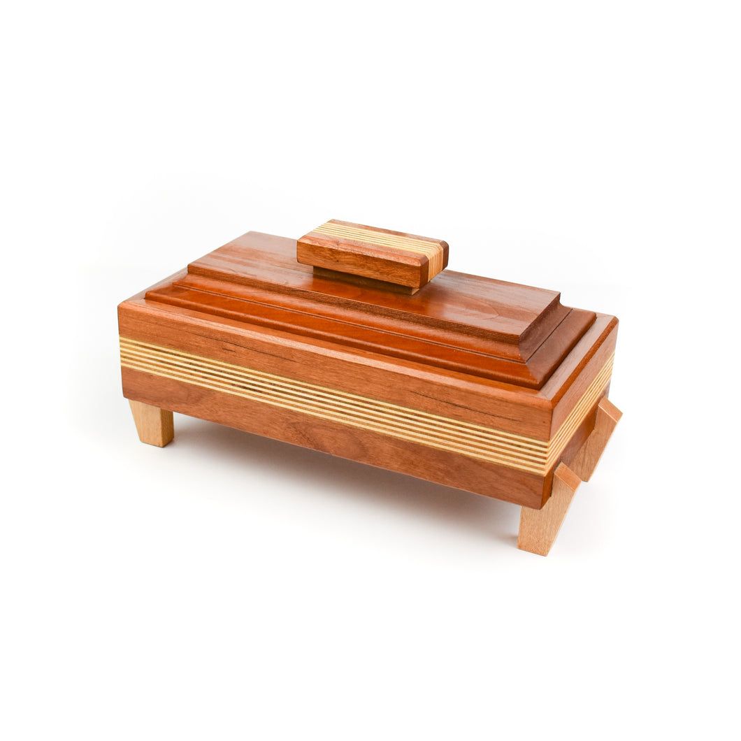 Robert Bishop Cherry/Birch/Maple Keepsake Box