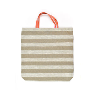 Alyssa Salomon Beige Shopper Tote