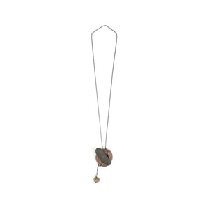 Jennifer Nunnelee Toggle Lariat Stone Necklace