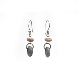 Jennifer Nunnelee Two Stone Earrings