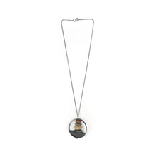 Load image into Gallery viewer, Jennifer Nunnelee Domed Circle Stone Stack Necklace