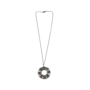 Jennifer Nunnelee Double Bearing Stone Necklace