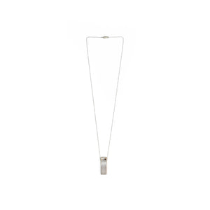 Taylor Fentz Lone Shadow Scape Minimal Building Necklace
