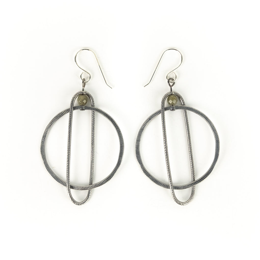 Boo Poulin Circle Earrings