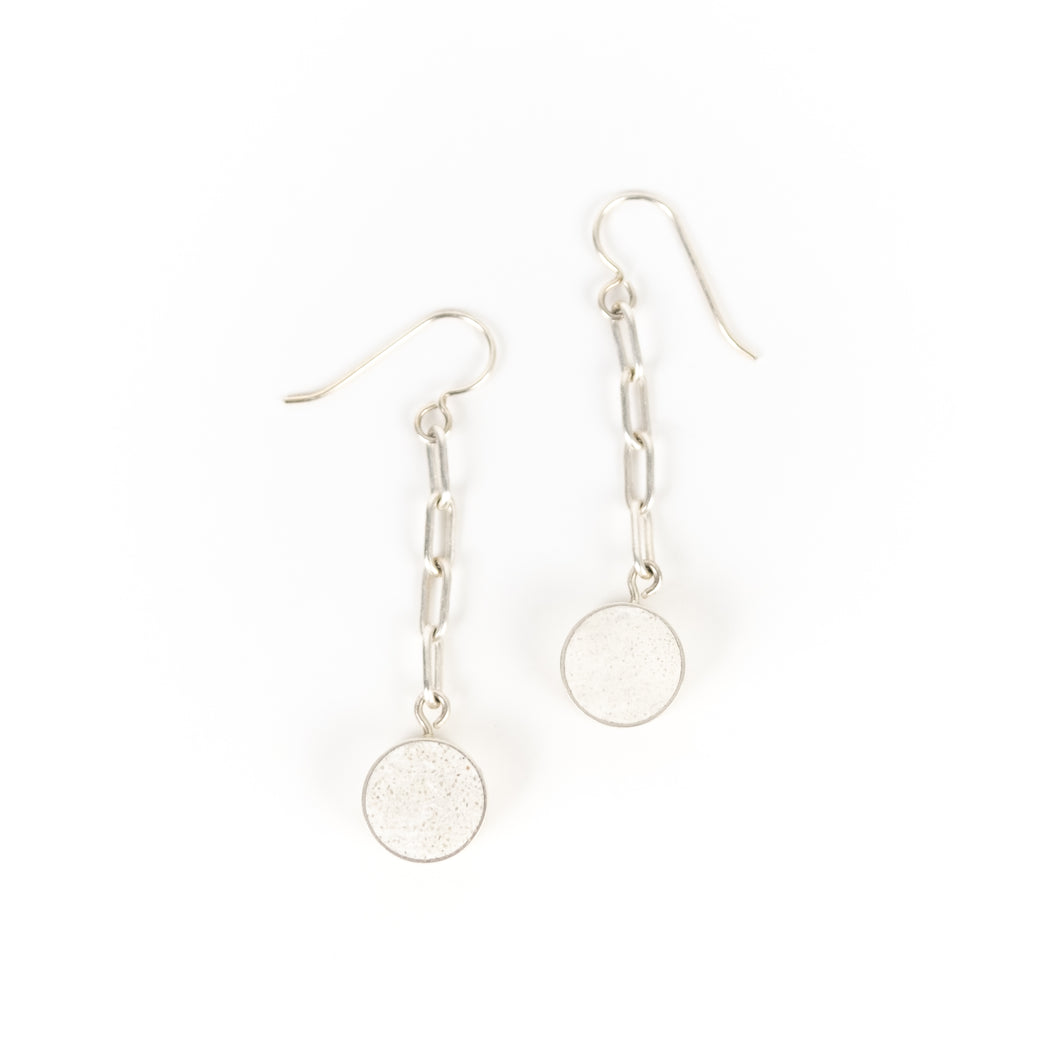 Allison Hilton Jones Long Circle Earrings