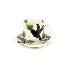Load image into Gallery viewer, Yoko Sekino Bove Porcelain Cup with Saucer Set