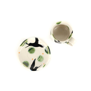 Yoko Sekino Bove Porcelain Cup with Saucer Set