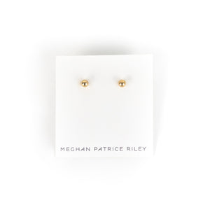 Meghan Patrice Riley Ball Stud Earrings