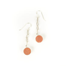 Load image into Gallery viewer, Allison Hilton Jones Long Circle Earrings