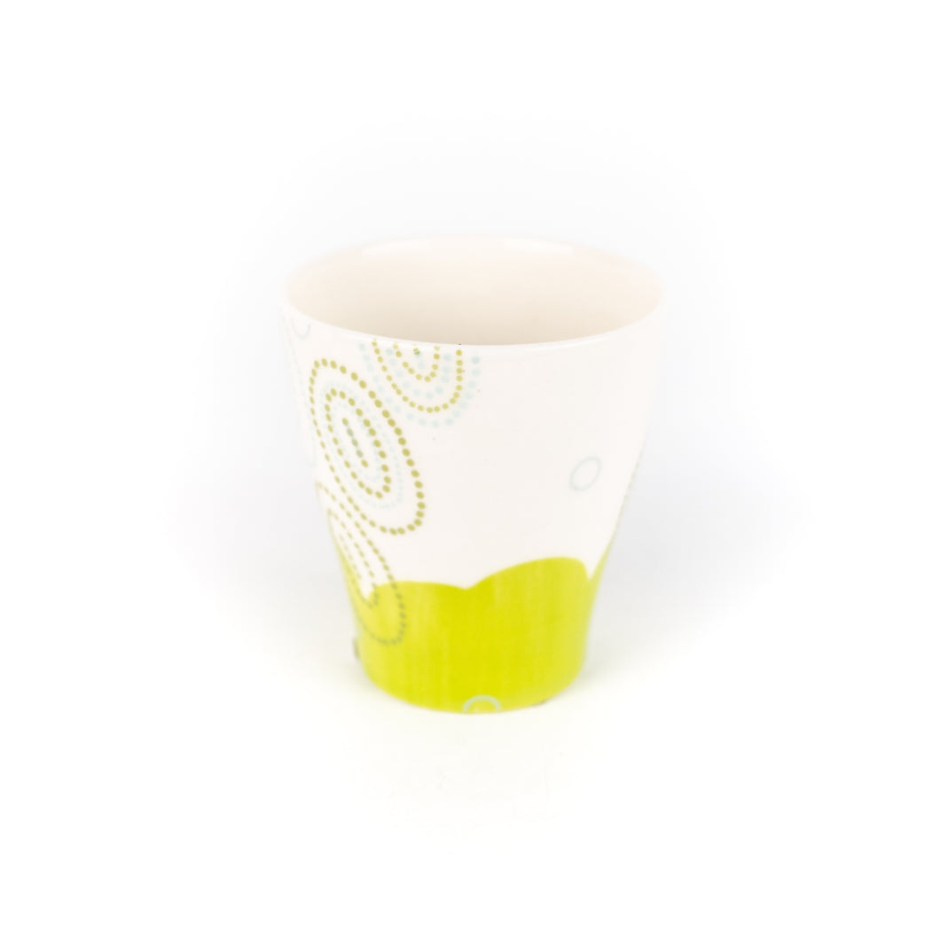 Meredith Host Dot Ceramic Cup