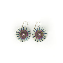 Load image into Gallery viewer, Laura Tabakman Hanging Disc Earrings