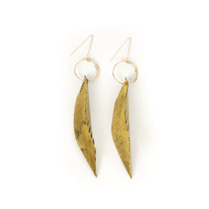 Nicolette Blahusch Feather Earrings