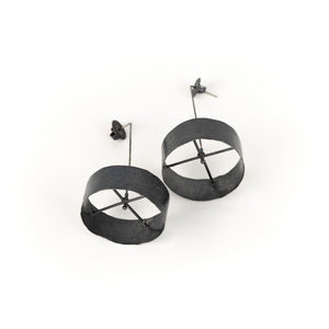 Biba Schutz Rotating Circle Earrings