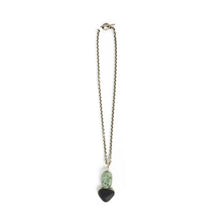 Load image into Gallery viewer, Terri Logan Double  Stone Pendant Necklace