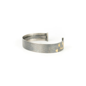 Peter Antor Silver and Gold Cuff