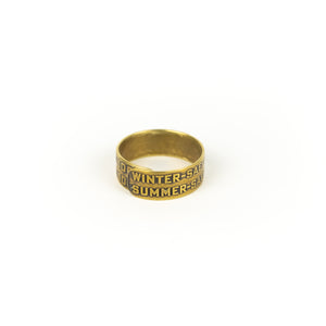 Devin Johnson Unisex Machine Plate Ring