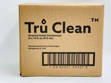 Load image into Gallery viewer, Tru Clean Hospital Disinfectant Case 6 -16oz bottles
