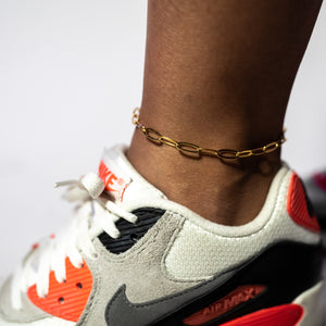Paperclip Anklet (5mm)