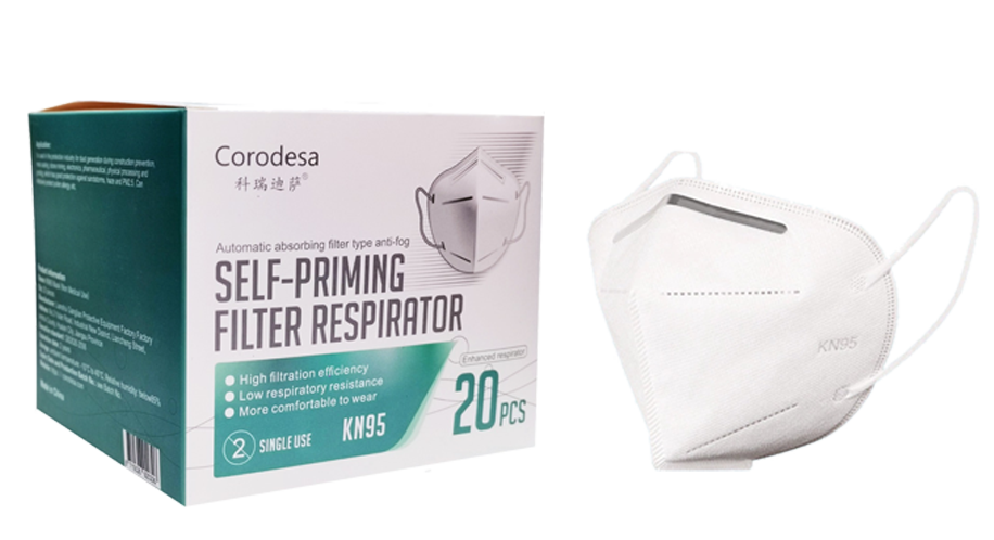 Load image into Gallery viewer, KN95 face mask non-medical Corodesa (20 pieces)