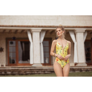 Floral Sunny Swimsuit - Roseland y Mar